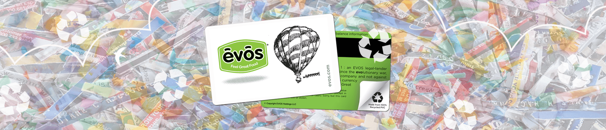 EVOS Greenback Giftcards