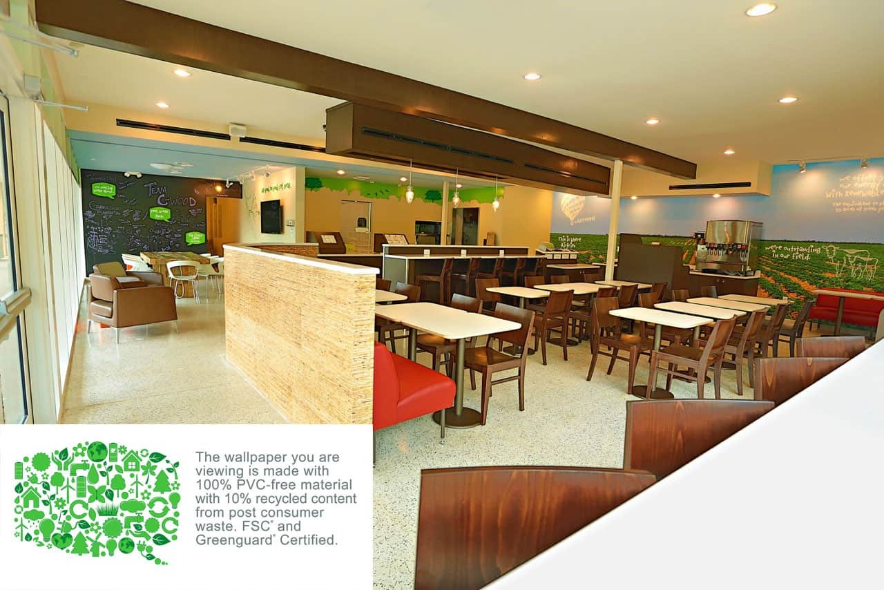 EVOS interior - Sustainable design