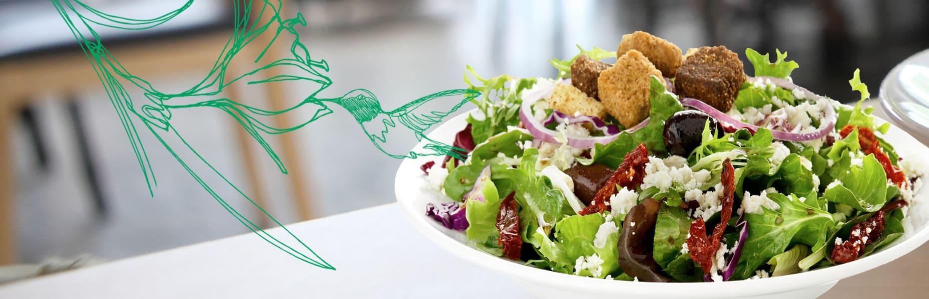 EVOS hjand Tossed Salads