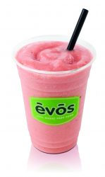 EVOS Fruit Shake. Real fresh fruit & natural juices