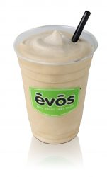 EVOS milkshake - homemade, lowfast organic milkshake.