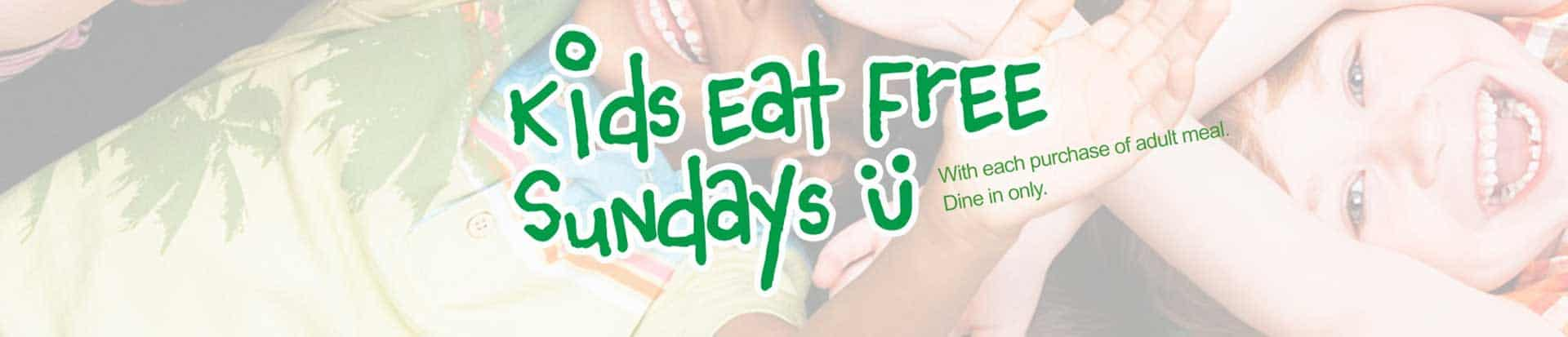 Kids eat free Sunday - EVOS Feel Great Food