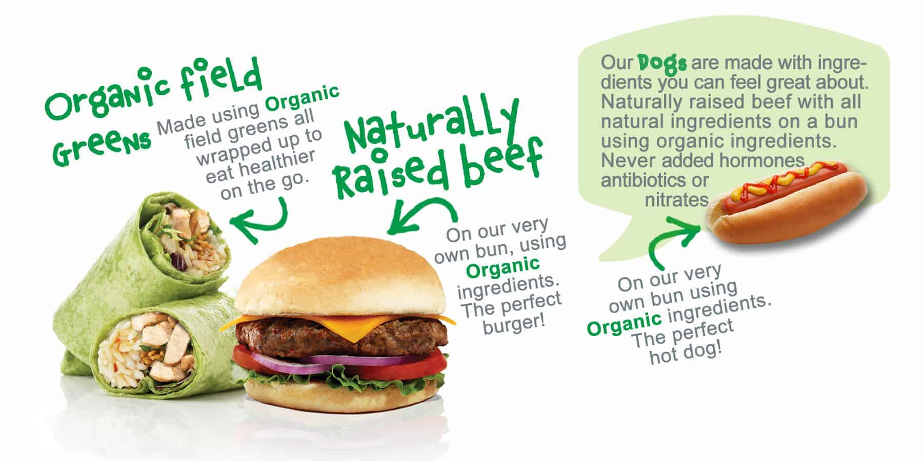 Naturally raised beef - EVOS Difference