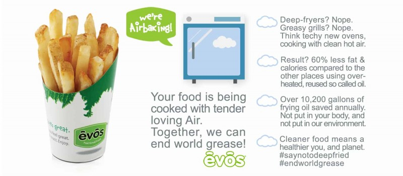 End World Grease | EVOS Feel Great Food